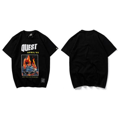 QUEST T-Shirt URBAN INFLUX Black L