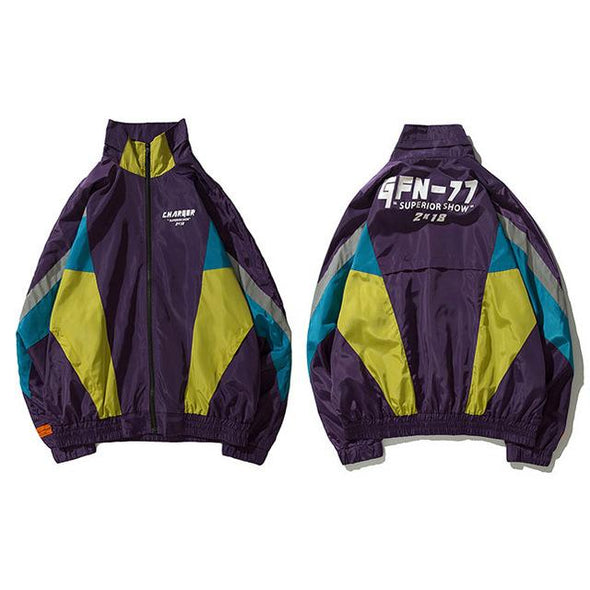 GFN77 Jacket URBAN INFLUX Purple L