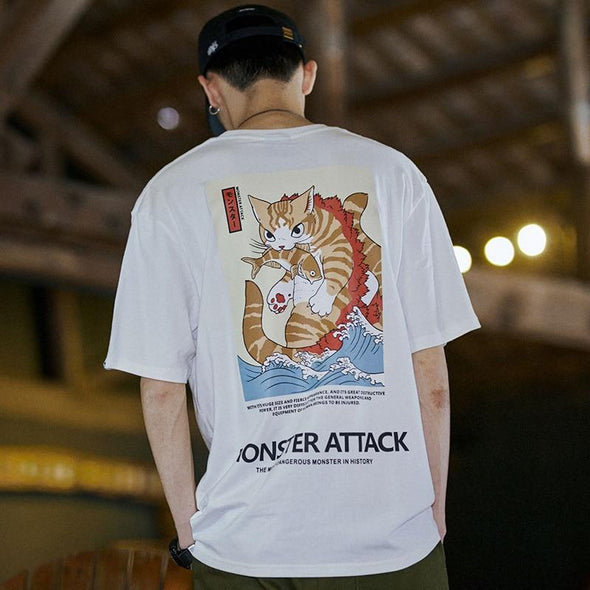 Monster Attack T-Shirt URBAN INFLUX
