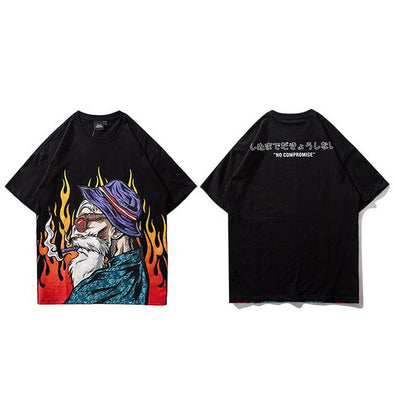 POPS T-Shirt URBAN INFLUX Black L