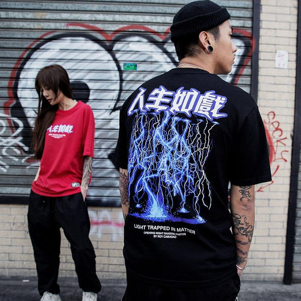 LIGHTNING T-Shirt URBAN INFLUX