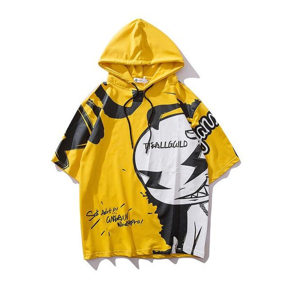 GHOST Sleveless Hoodie URBAN INFLUX Yellow L