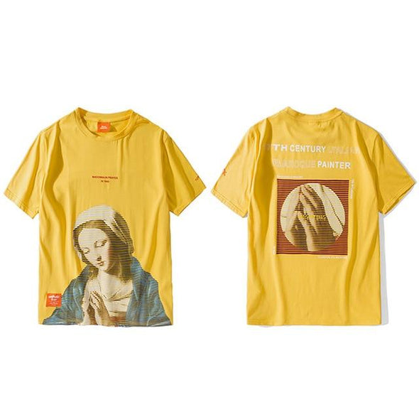 MADONNA T-Shirt URBAN INFLUX Yellow L