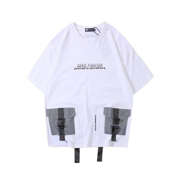DOUBLE T-Shirt URBAN INFLUX White S