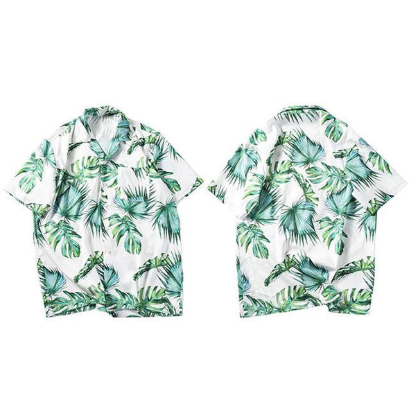 Flora Shirt URBAN INFLUX Green L