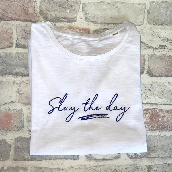 Slay The Day Organic Cotton T-shirt