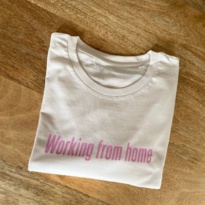 Working From Home Organic Cotton T-shirt