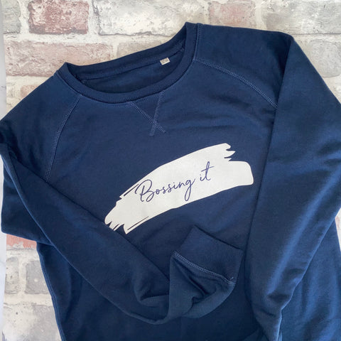 Bossing it Organic Cotton Sweatshirt