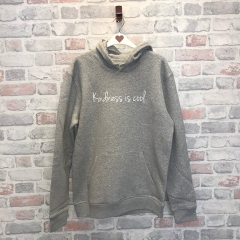 Kindness Is Cool Organic Cotton Hoodie