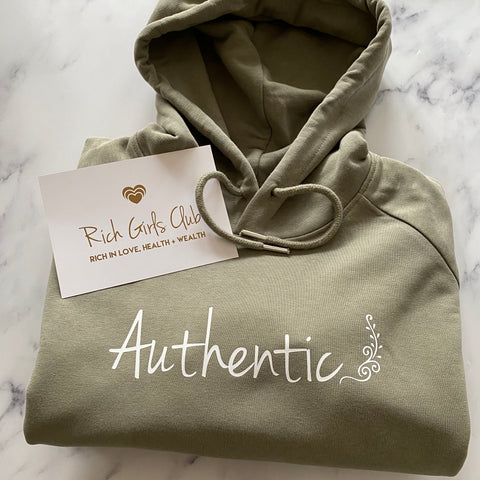 Authentic Organic Cotton Hoodie
