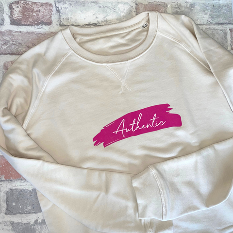 Authentic Organic Cotton Sweatshirt