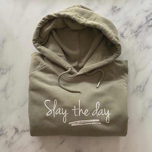 Slay the Day Organic Cotton Hoodie