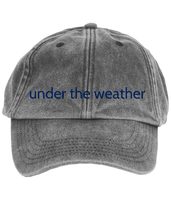 under the weather cap
