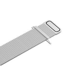 'The Perfectionist' - Silver Milanese Loop for Apple Watch