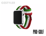 'Pro-Golf' Nato / Zulu Style Band for Apple Watch