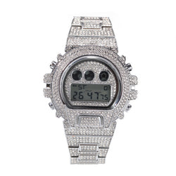 Iced Down Digital Watch