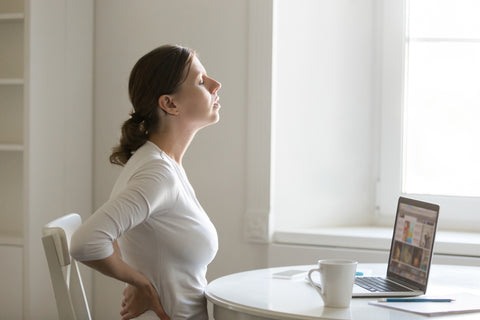 bad posture lower back pain