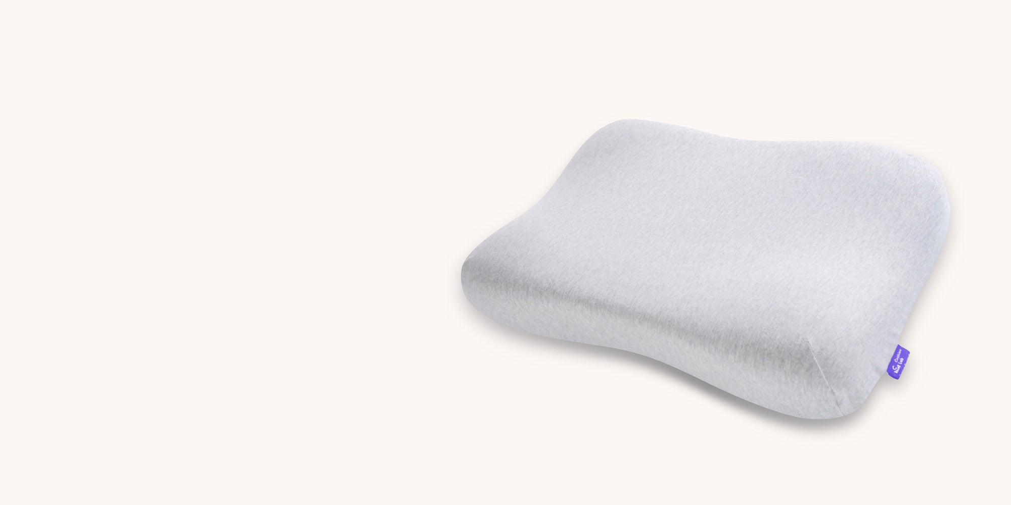 Cushion Lab Ergonomic Contour Pillow, Gel-Infused Contoured Ergonomic Memory Foam Pillow for Sleeping