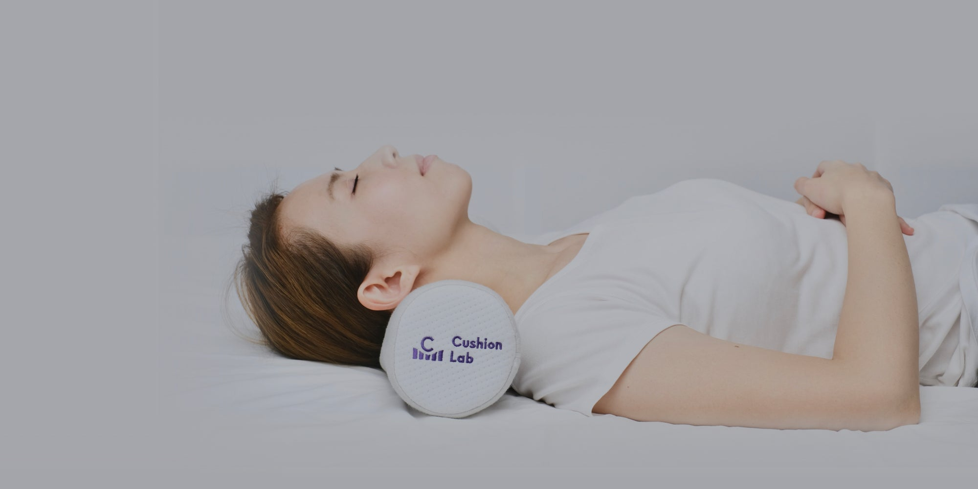 Neck Relief Cervical Roll Pillow for Sleeping