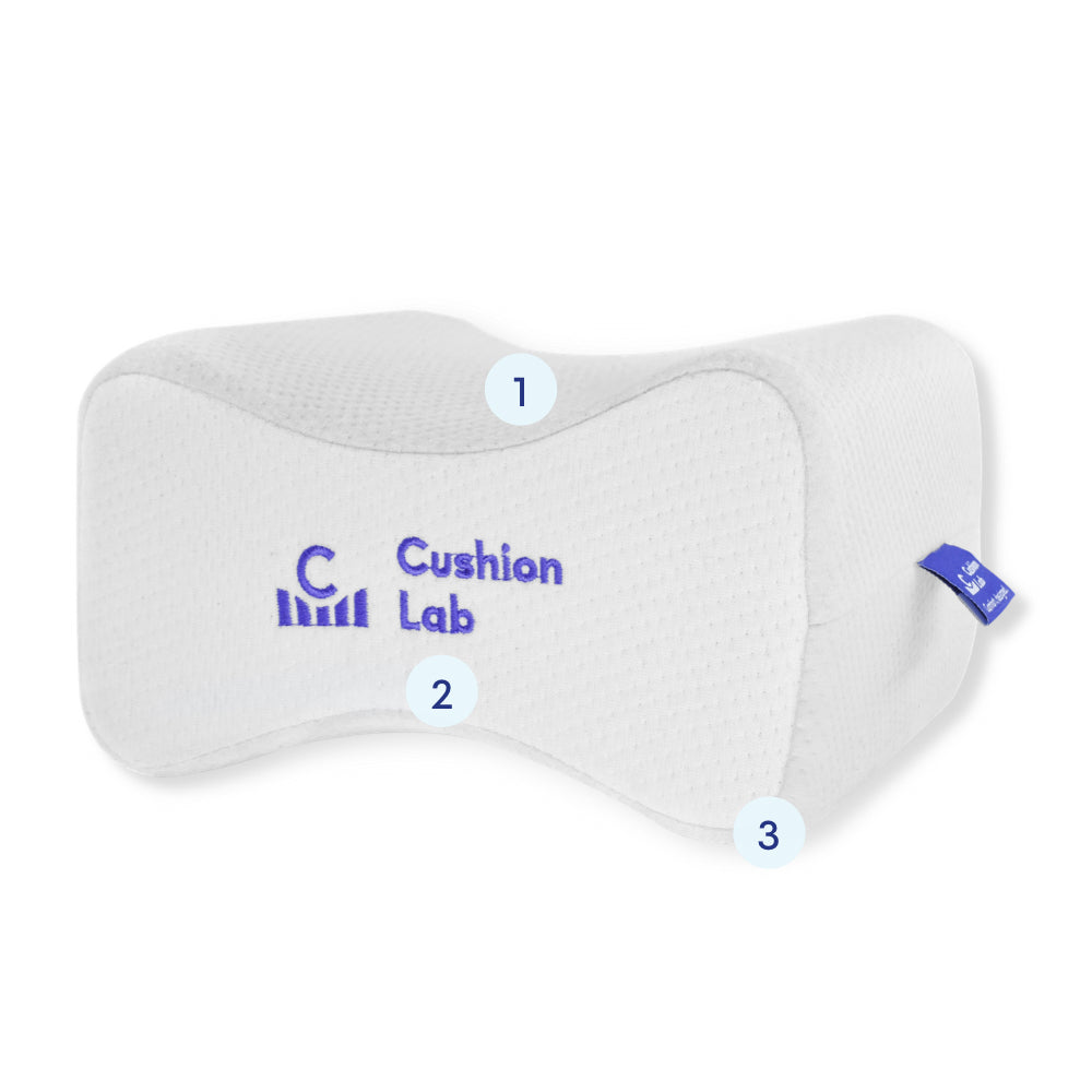Cushion Lab Side Sleeper Knee Pillow Features