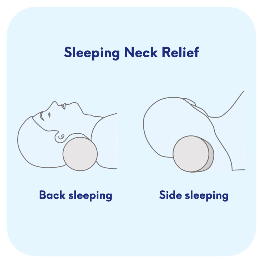 cervical neck roll pillow for neck pain relief