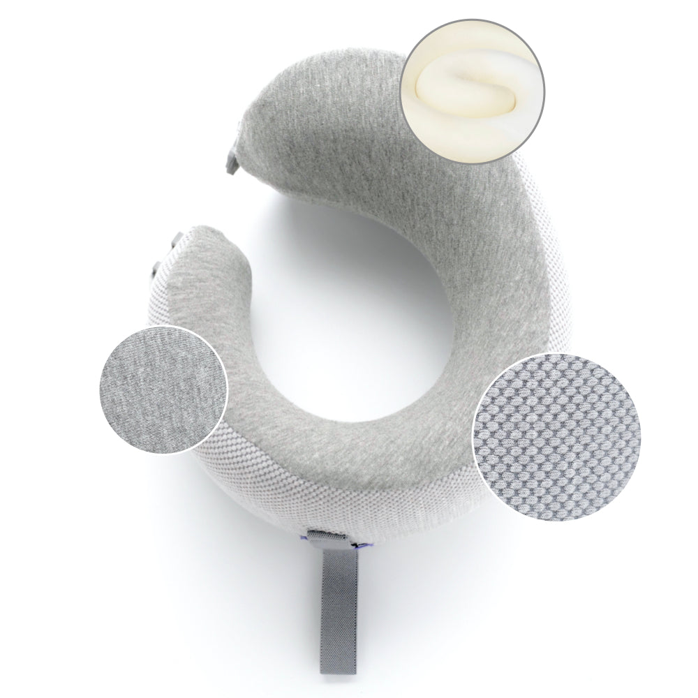 Cushion Lab Ergonomic Travel Pillow Materials
