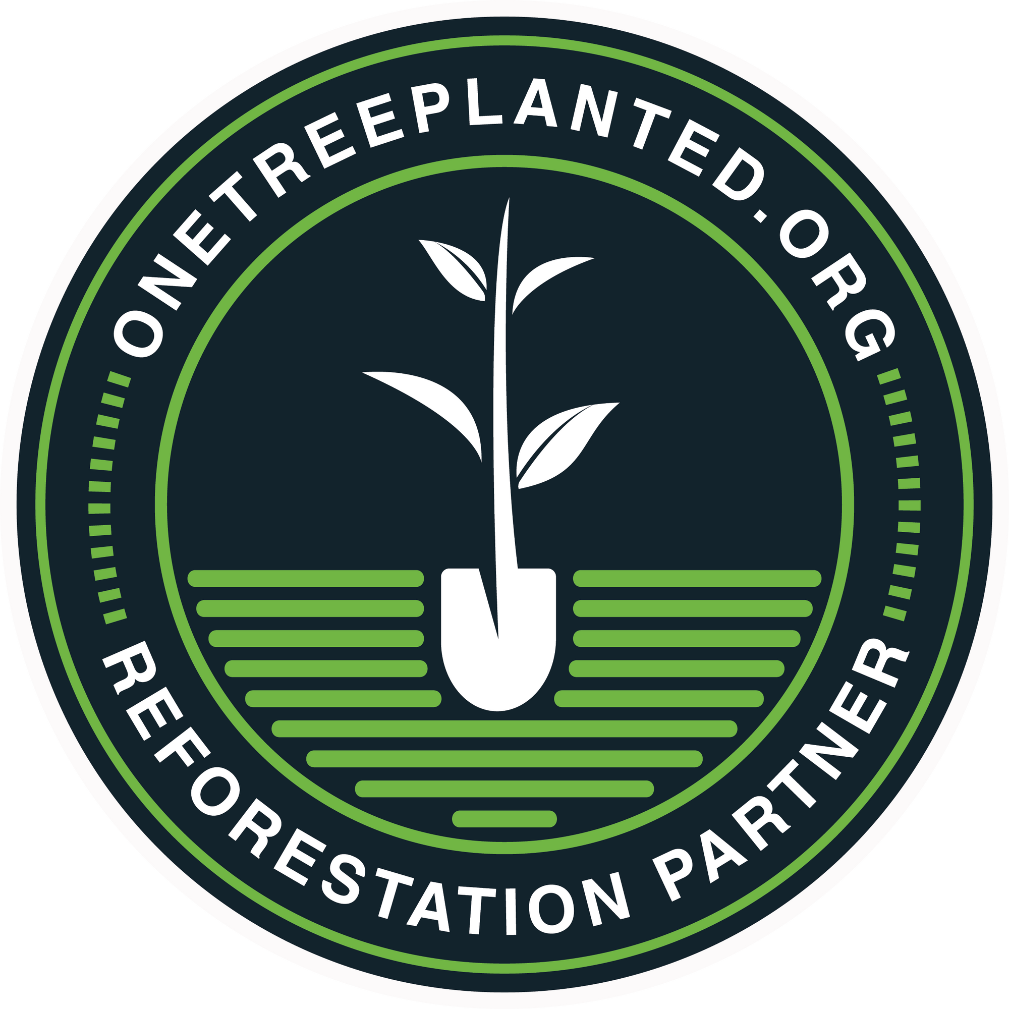 One tree planted Partnership - save our planet