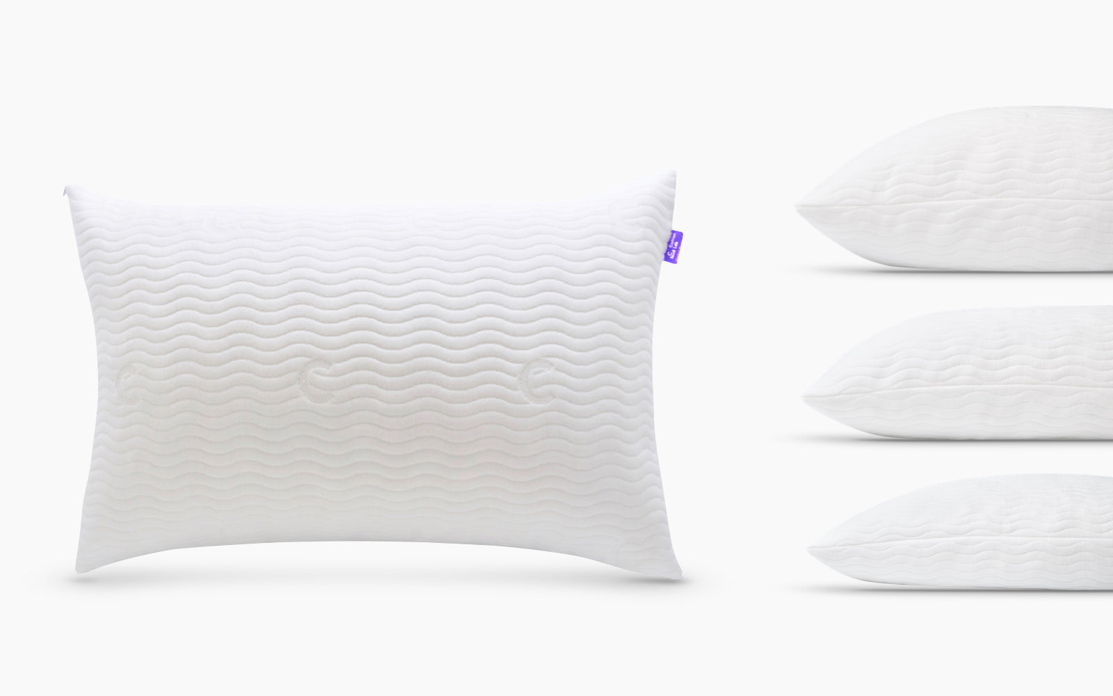 Cushion Lab Adjustable Shredded Memory Foam Pillow