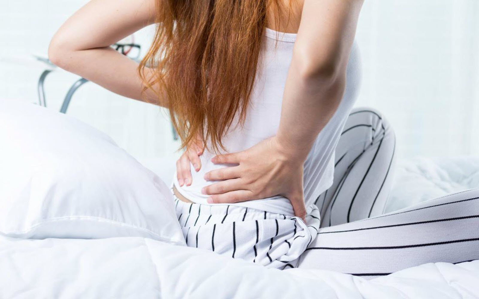wake up with morning back pain