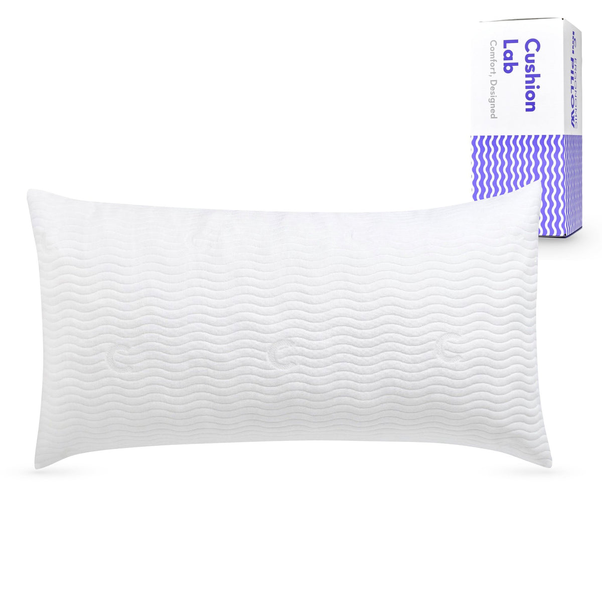Extra Support Adjustable Shredded Memory Foam Pillow for Back, Stomach, Side Sleeper - Sleep Comfort & Neck Support Bamboo Pillow, Oeko-Tex Hypoallergenic Cover, CertiPUR US, King Size