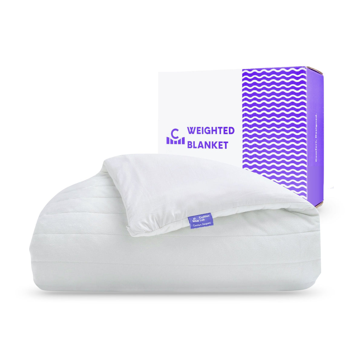 Calm Embrace Weighted Blanket - Cushion Lab