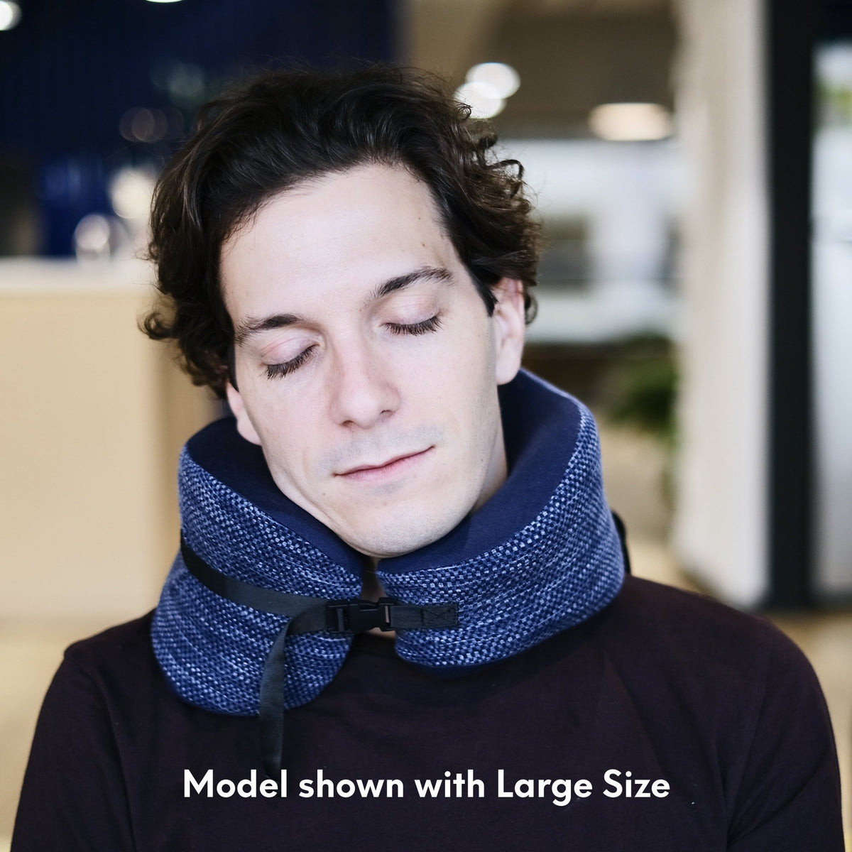 Ergonomic Travel Neck Pillow - Cushion Lab