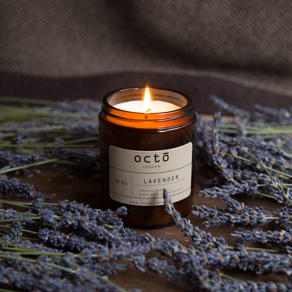 Octo candles: Lavender