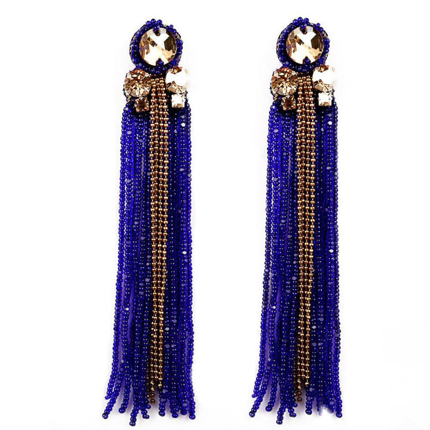 Sheen Tasseled Earrings Women - Jewelry - Earrings BEGADA