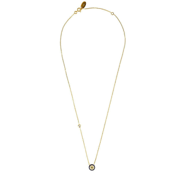 Evil Eye Necklace Gold Women - Jewelry - Necklaces LATELITA LONDON