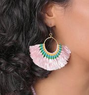 Tassel Fan Earrings Women - Jewelry - Earrings SLATE + SALT