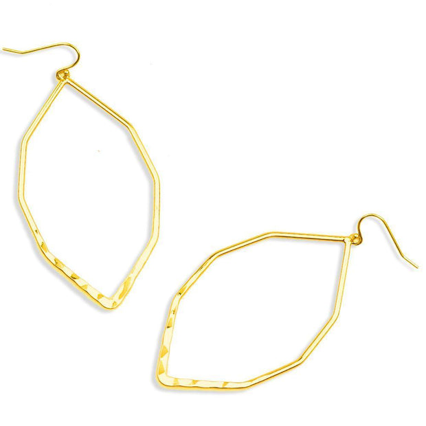 Geometric Hoop Earrings Women - Jewelry - Earrings Christy Jean Boutique