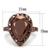 Crystal Chocolate Ring Ring Alamode