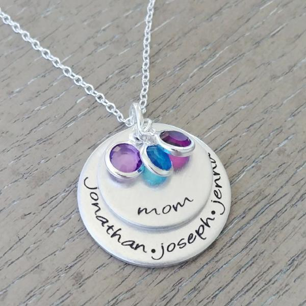 Personalized Mom Necklace Women - Jewelry - Necklaces Gracefully Made Jewelry