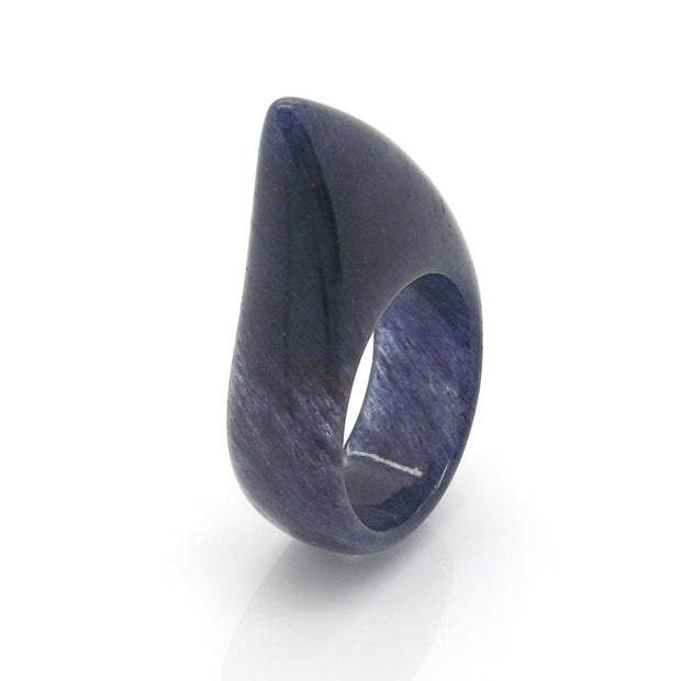 Shark Ring - Blue Aventurine stone Women - Jewelry - Rings INIZIO