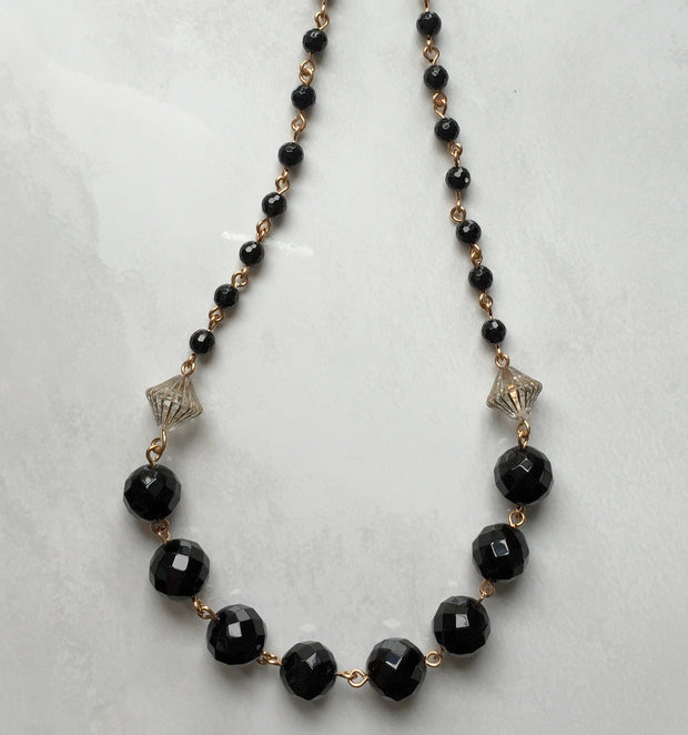 Black Onyx Necklace Women - Jewelry - Necklaces 5one7 Designs