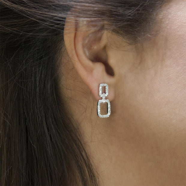 Chained Earrings Women - Jewelry - Earrings ClaudiaG Collection