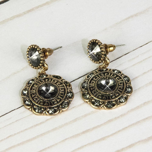 Bloom Earrings-Charcoal Women - Jewelry - Earrings ClaudiaG Collection