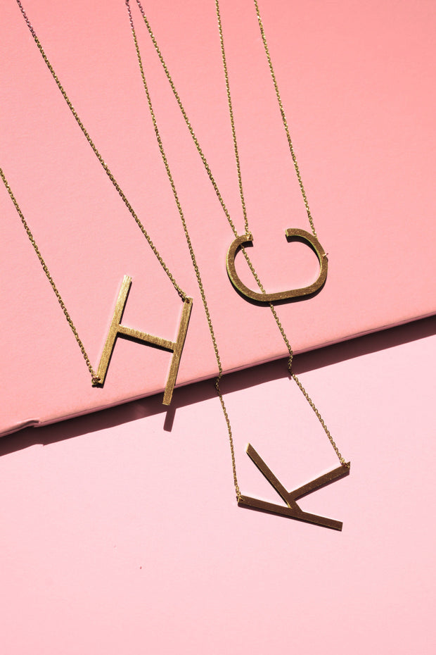 Monogram Collection Initial Necklace Women - Jewelry - Necklaces Ellison + Young