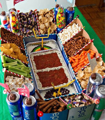 Football Snack Stadium homegate tailgate football party food appetizers snacks