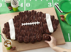 Football cupcake dessert cake ideas football tailgate homegate party