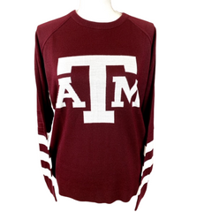 Texas A&M Aggies Block ATM Logo Sweater