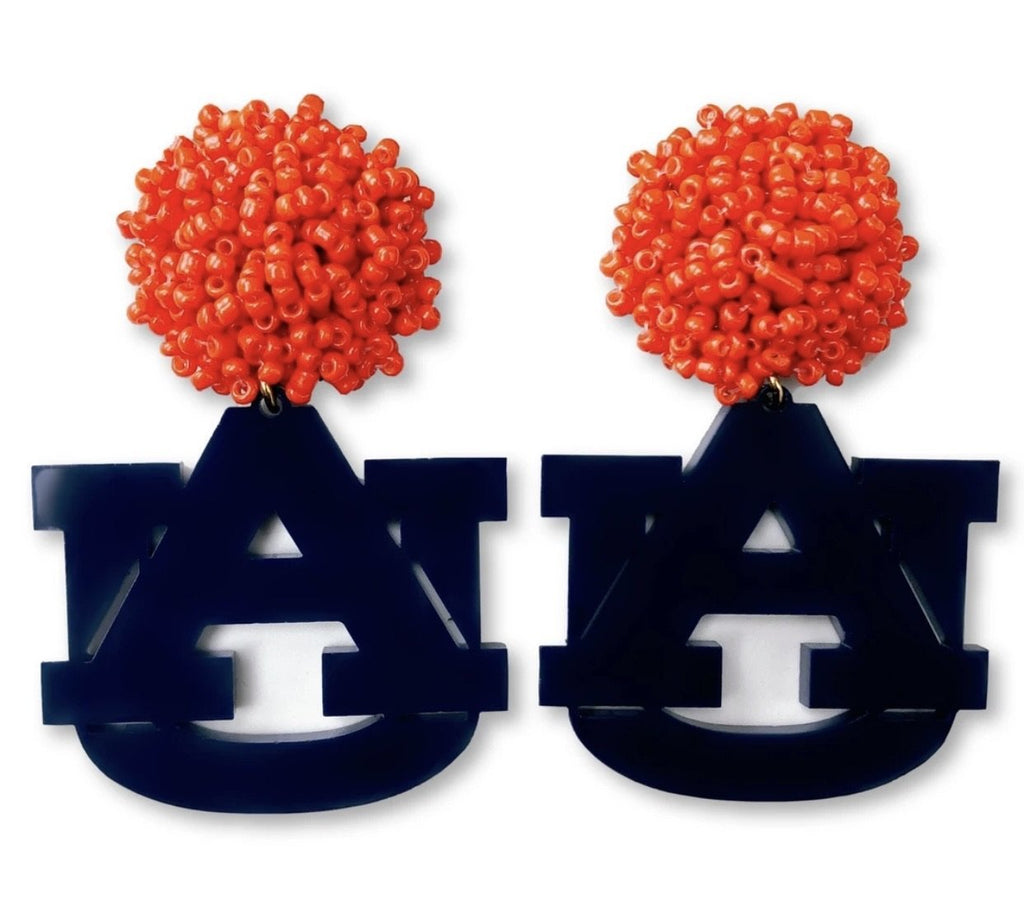 Auburn Acrylic Earrings - StyleAlum