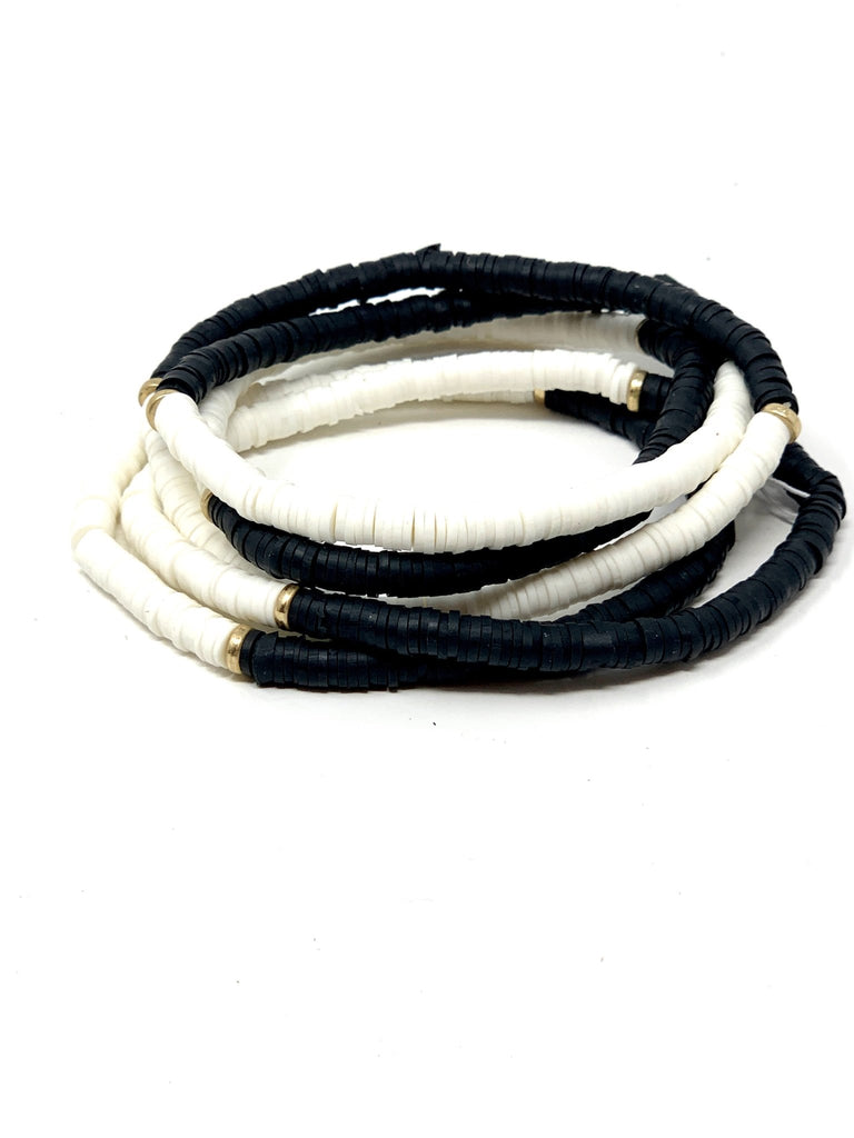 Black and White Bracelet - StyleAlum