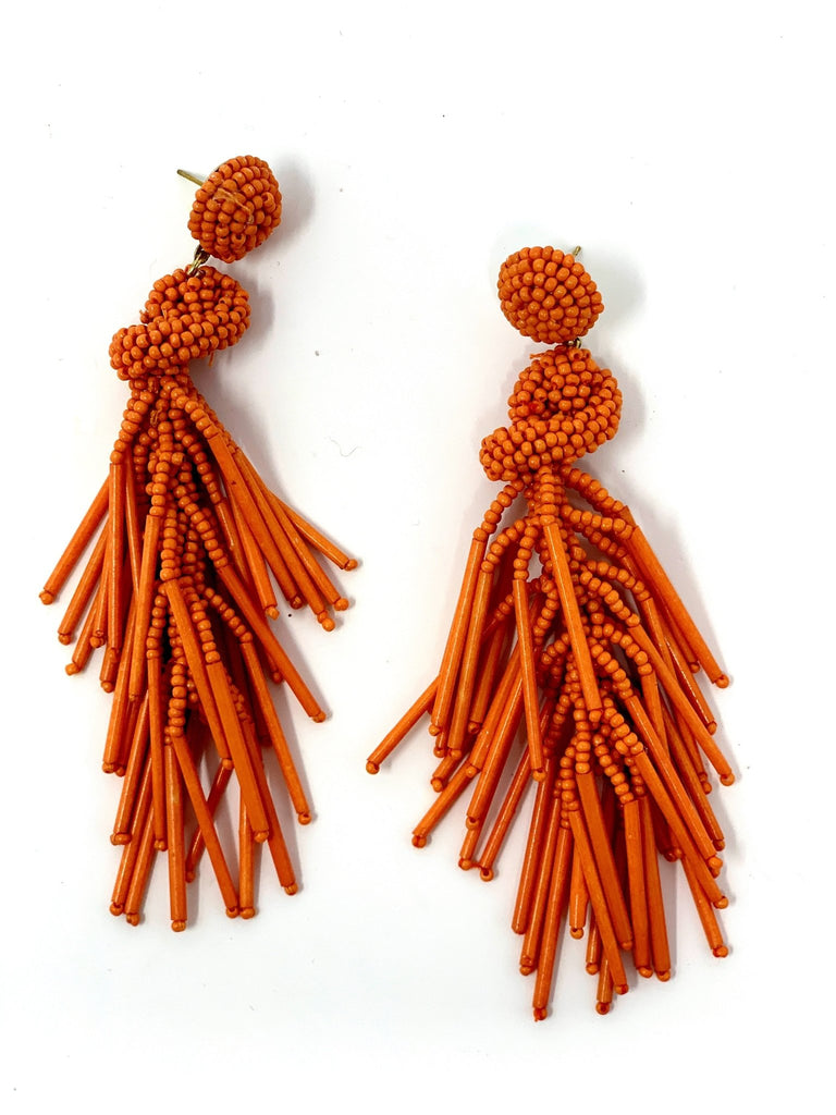 Dangle Bead Earrings - StyleAlum